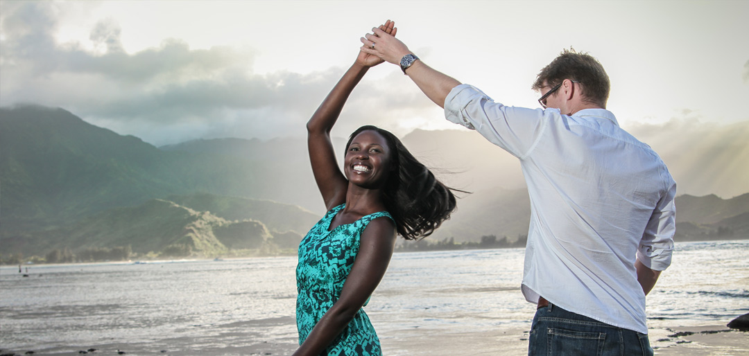 Charming Couple Photographs Hawaii