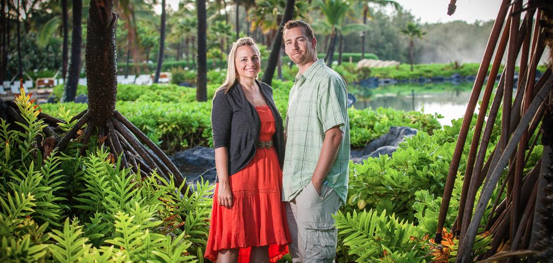 Scenic Couple Photo Session Hawaii