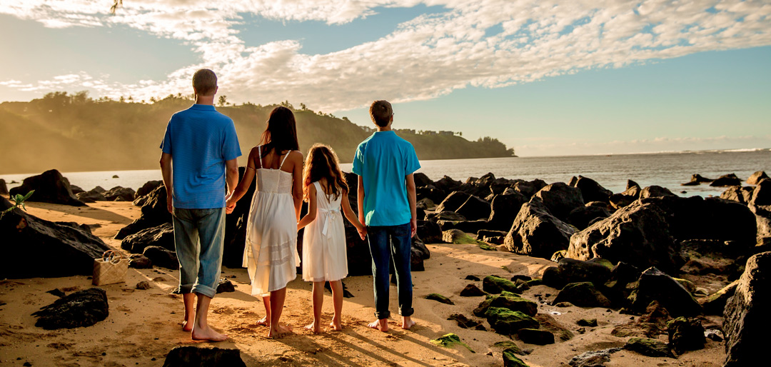 Scenic Family Photo Sessions Hawaii