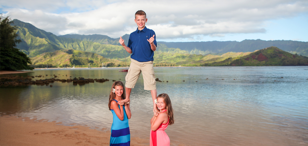 Kids Family Photos Hawaii