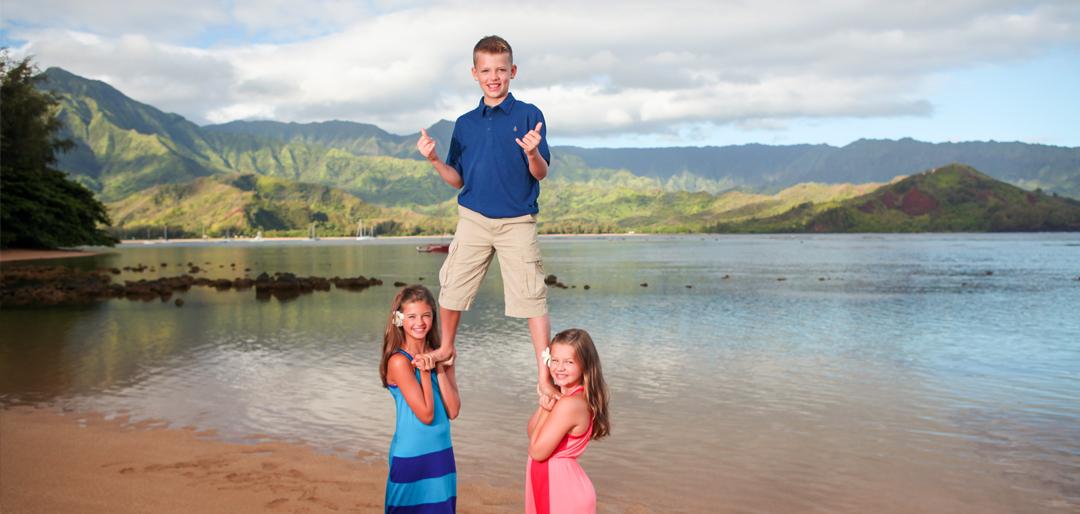 Kids Family Photos Hawaii