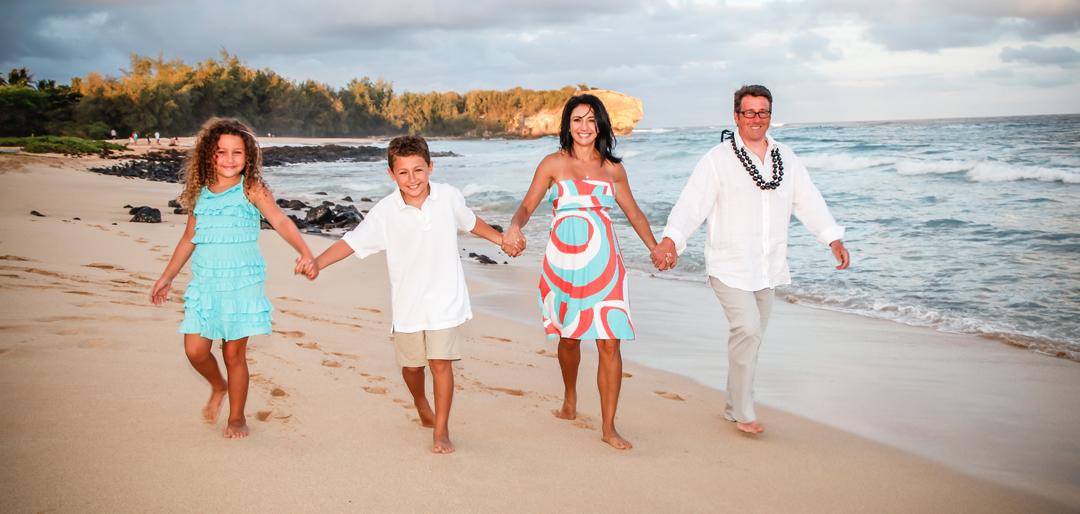 Beach Family Photos Hawaii