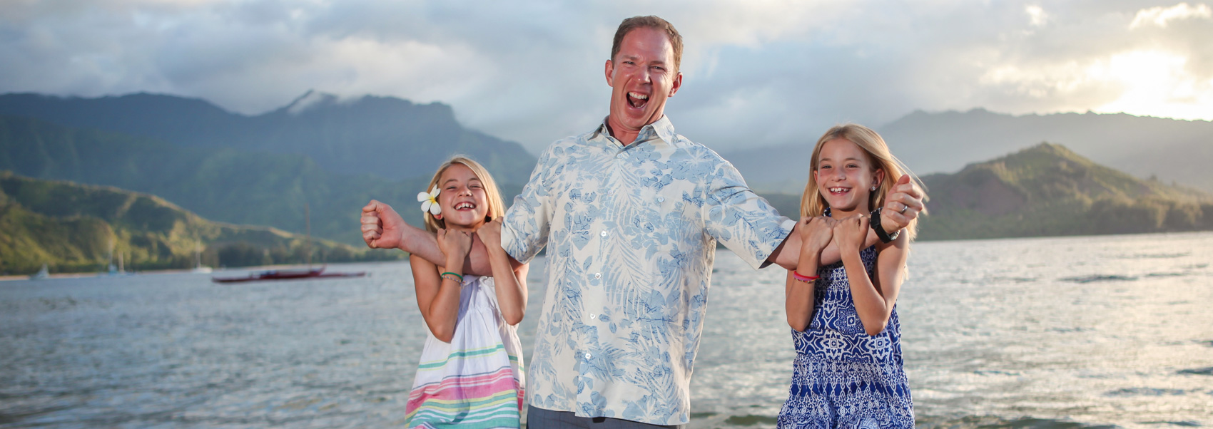 Fun Family Photograph Hawaii