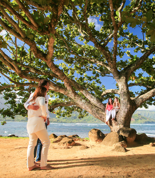scenic family photographs Hawaii