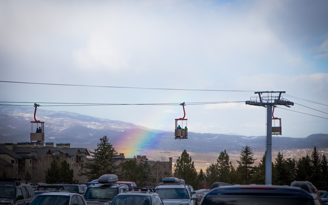 Rainbow Surprise Over Park City