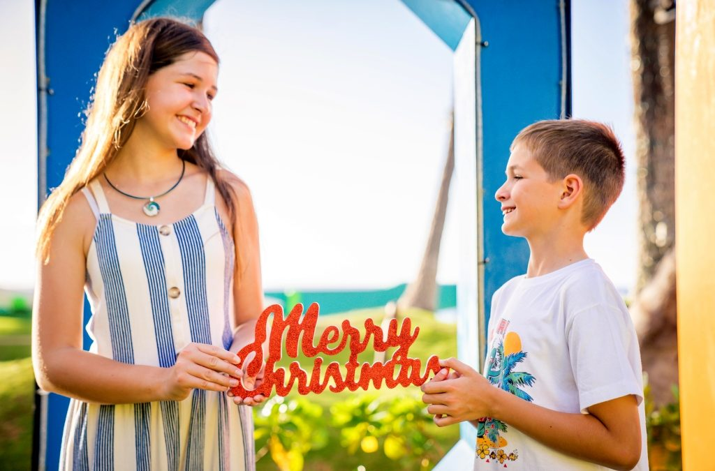 Family Photography: Spending the Winter Holidays in Maui