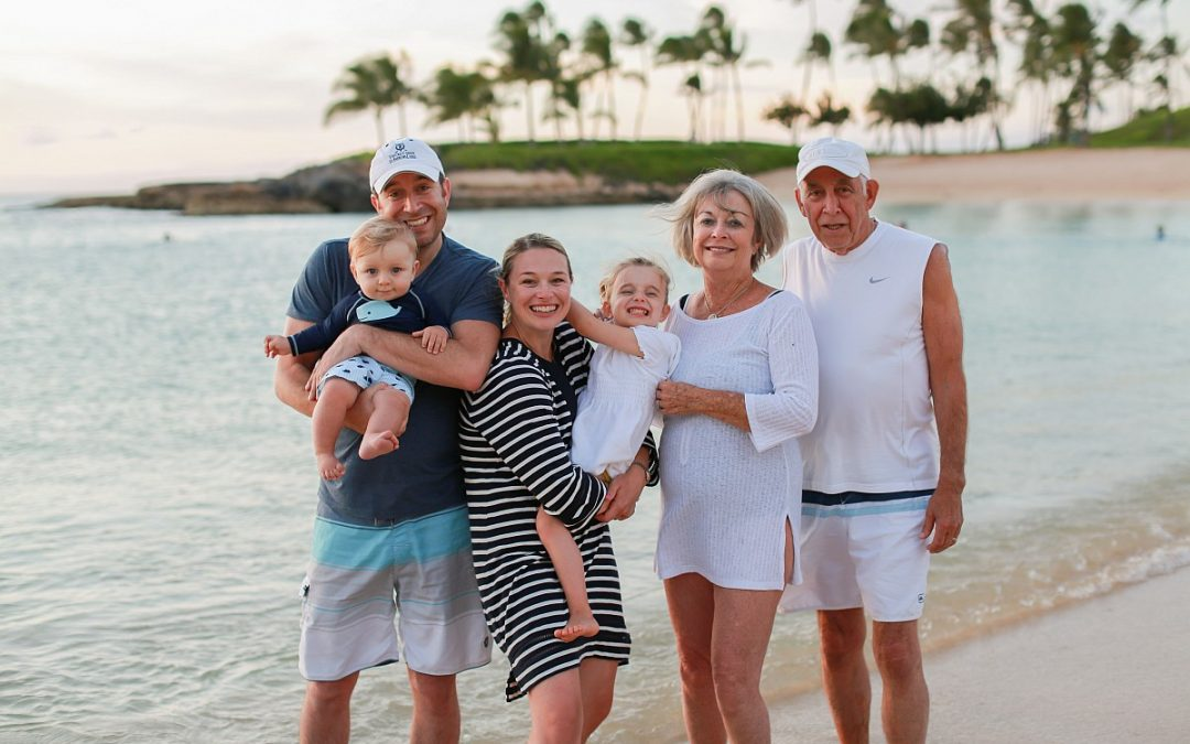 Family Photography:  Family Milestones Written Down in Hawaii